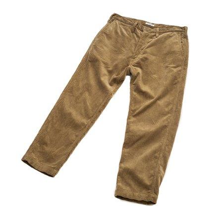 Sugar Cane Corduroy Slim Trousers - Beige