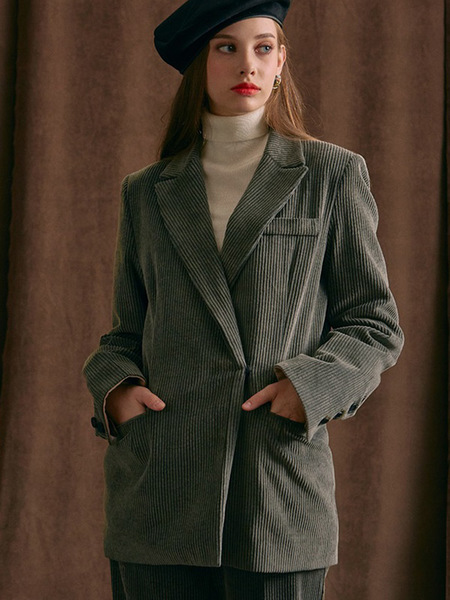 INUSWAY Corduroy Jacket - Grey