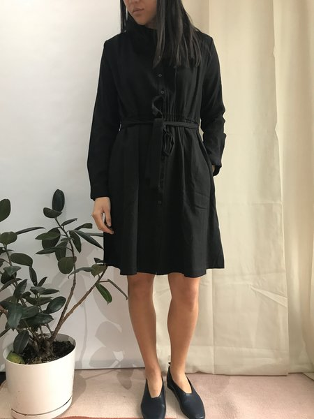 PEPALOVES BONNIE DRESS - BLACK