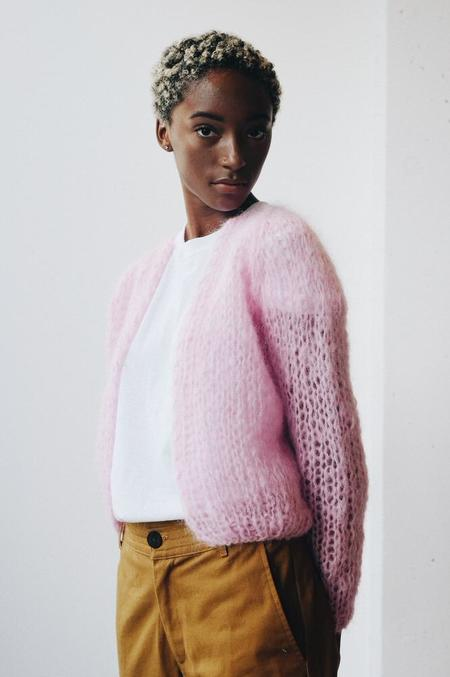 Maiami Small Cardigan - Rose