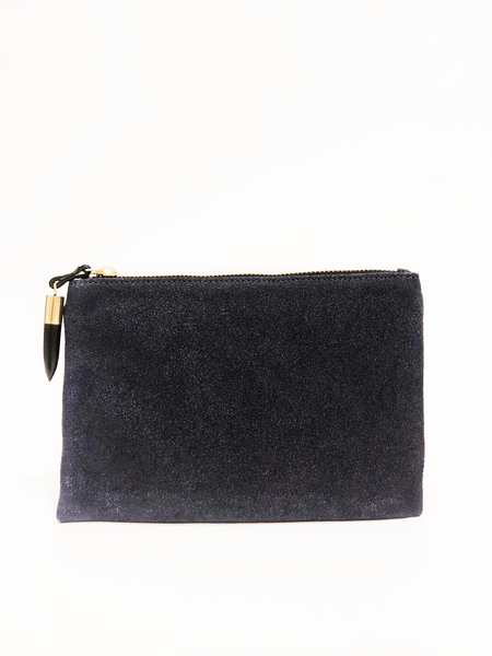 Kempton & Co Small pouch - Navy Grit