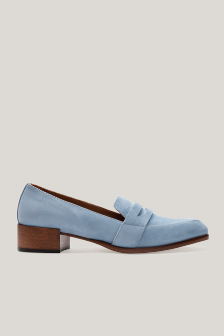 Thelma The Penny Loafer - Powder