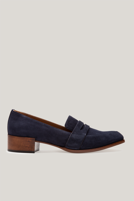 Thelma The Penny Loafer - Midnight