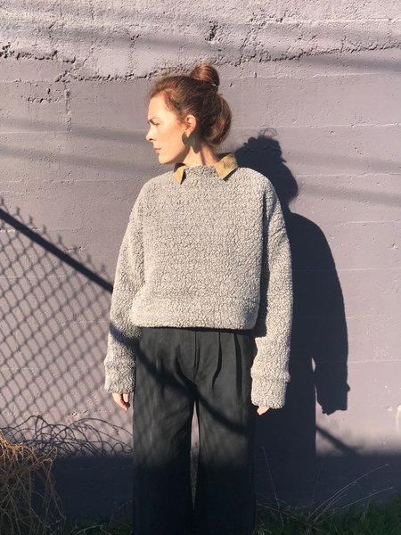 Priory Bruna Sherpa Sweater - Heather Grey