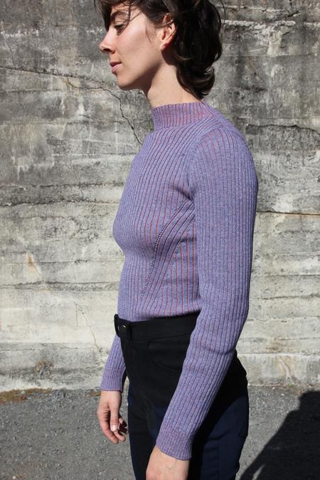 Rachel Comey Mock Neck Sweater - Lilac