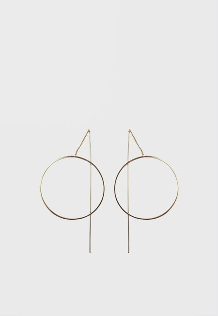 Wos Soul Earrings - Gold