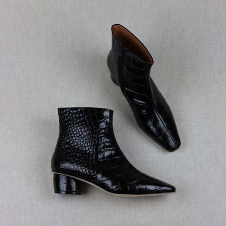 LOQ Matea Croc Boots - Negro