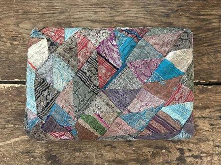 Nine Streets Vintage Antique Silk Throw - Sari Patchwork