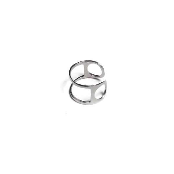 Alynne Lavigne Double Line Ring
