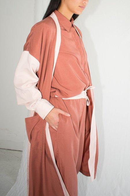 Soft Focus Robe - Terracotta Blush