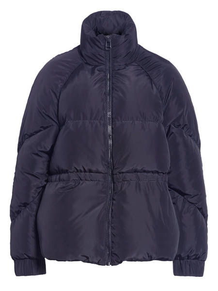 GANNI Whitman Puffer Jacket - Total Eclipse