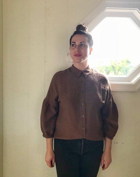 Eve Gravel Ghost Story Shirt - Cinnamon