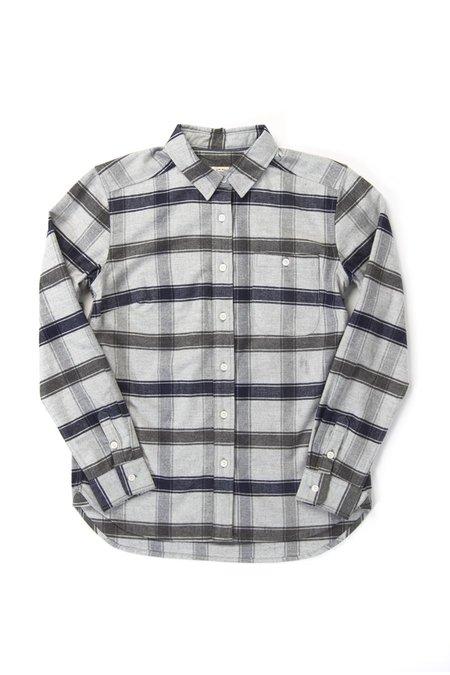 Bridge & Burn Woodrow shirt - Light Grey Plaid