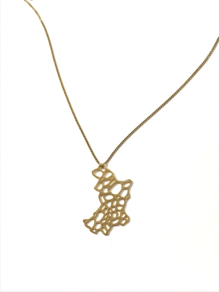 Justine Brooks Circles Necklace