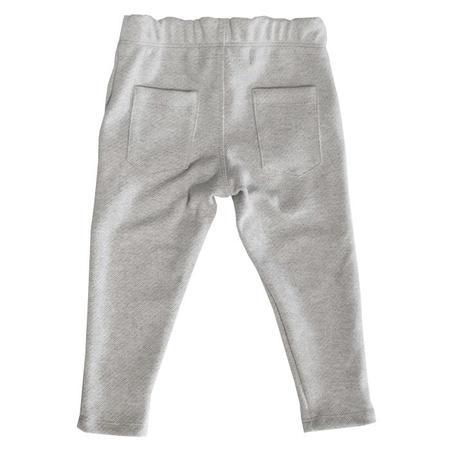 Kids Hopper Hunter by 18 Waits Child The Jackrabbit Pants - Grey Diagonal Stripes