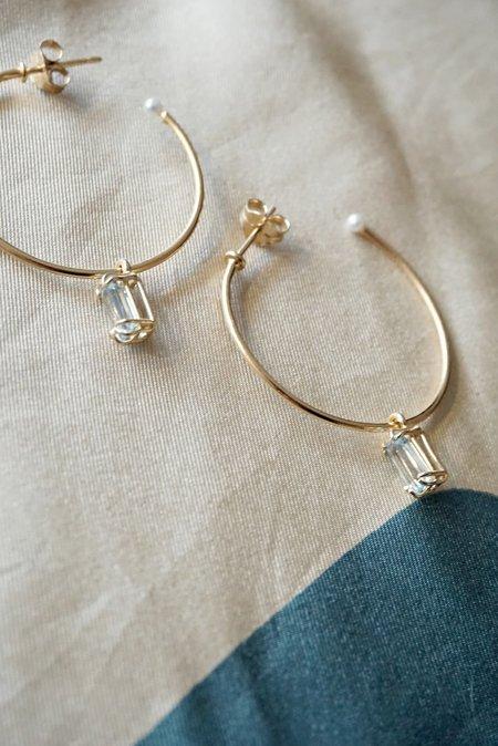 Beatriz Palacios Hoop Earrings