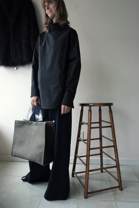MM6 Tote Bag - Green/Grey