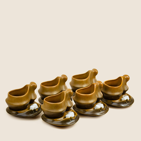 THE TABU SHOP Vintage Surrealist Coffee Set