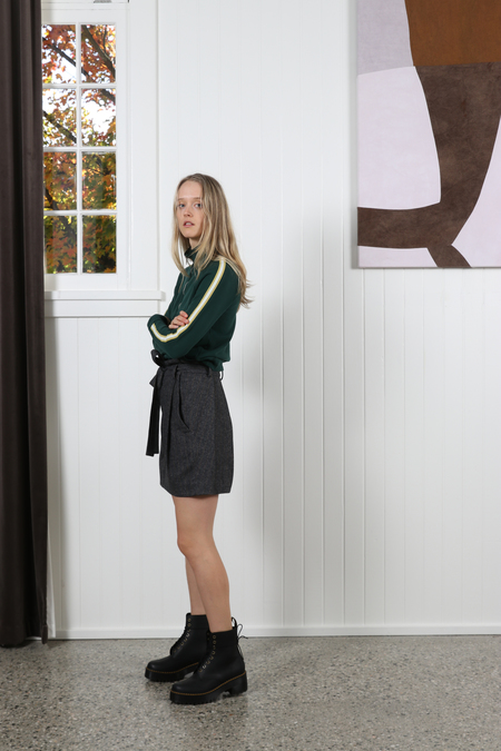 NSF Camila Pullover Sweatshirt - Deep Greenery