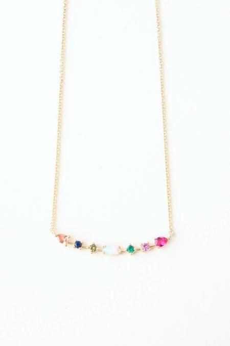 tai Multi Arc Necklace - 14K Gold