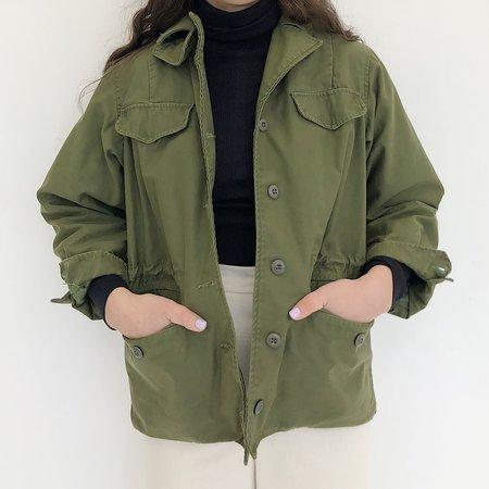 Vintage Johan Field Jacket - Army Green