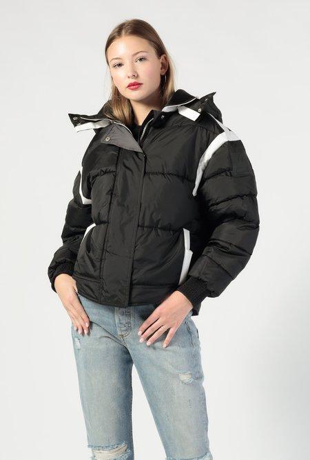 Biannual Cocoon Puffer Detachable Hood Jacket