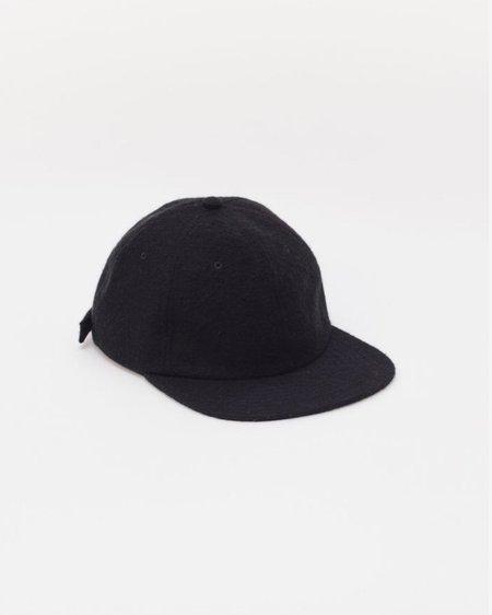 Maiden Noir Brushed Wool Cap - Black