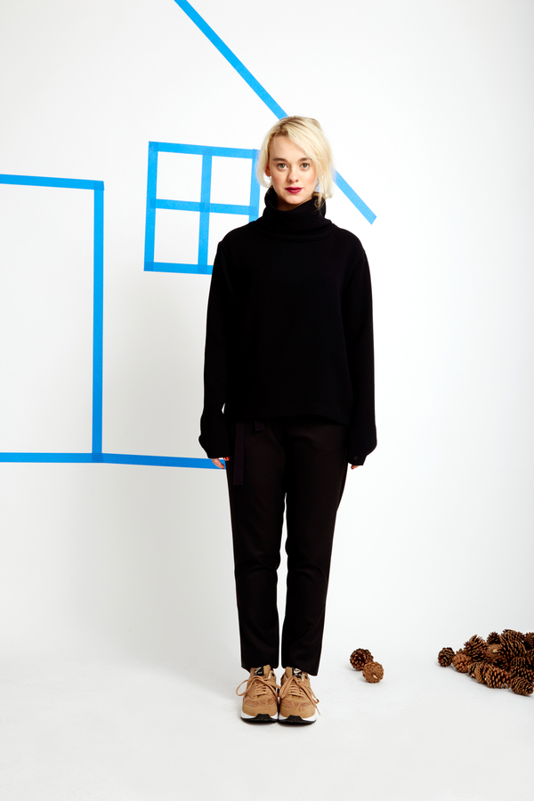 The FOUR Eloise Turtleneck Top