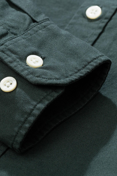 Norse Projects Anton Oxford Shirt - Spinnaker Green