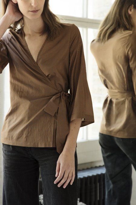 The Acey Sadie Wrap Top
