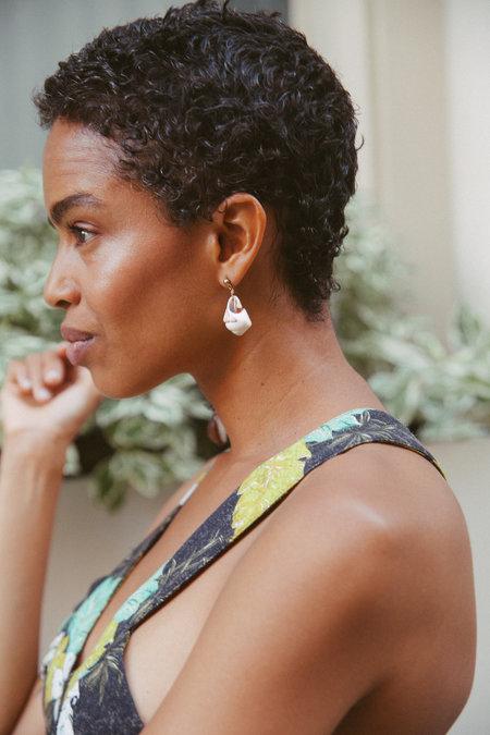 SVNR Droplet Earring (Single)