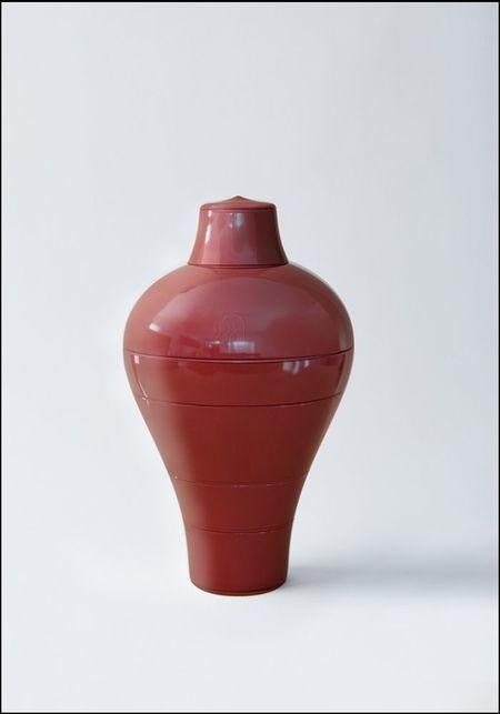 Ibride Red Ming Stacking Bowl Set - Red