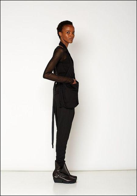 Rundholz Black Label Half Vest - BLACK