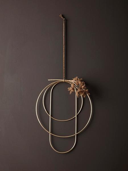 Ferm Living Brass Deco Frames - Brass
