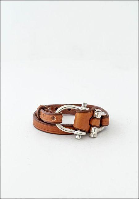 CXC Leather Works Wrap Bracelet