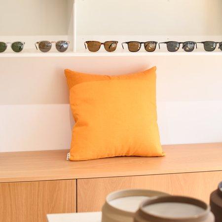 Yowie Linen Pillow - Yellow Turmeric