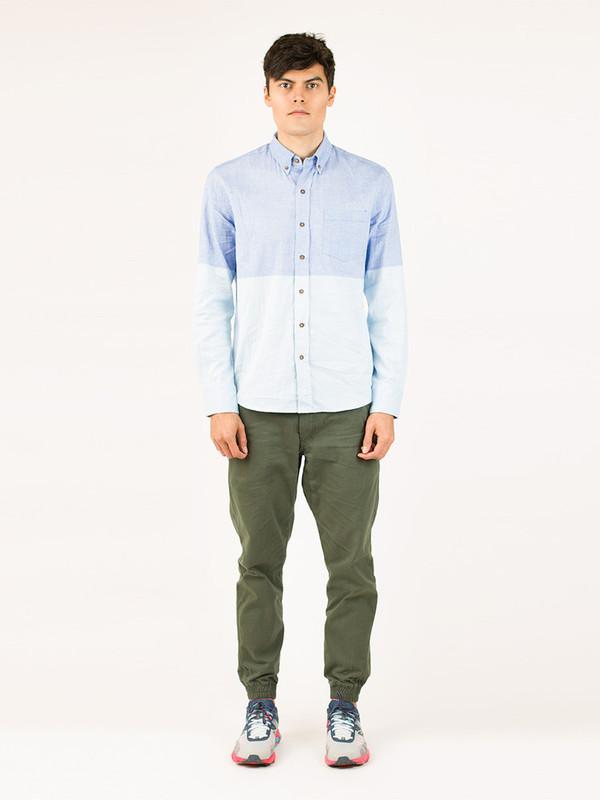 Men's Vanishing Elephant 2-Tone Chambray Shirt