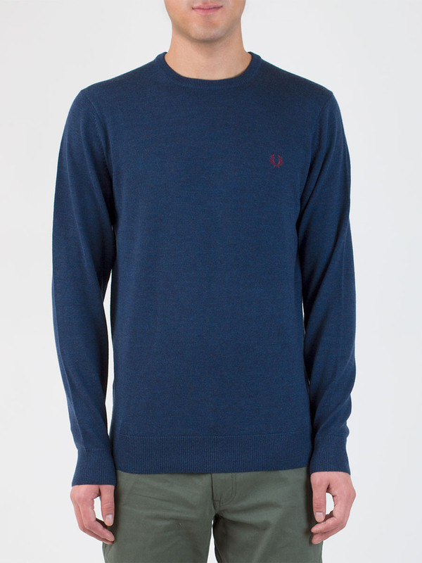 Men's Fred Perry Crew Neck Sweater