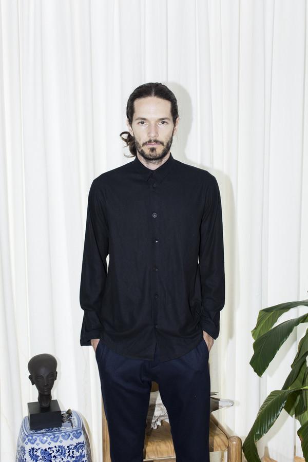 Men's Assembly New York Black Standard Shirt