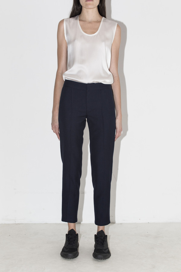 Assembly New York Navy Cropped Pants