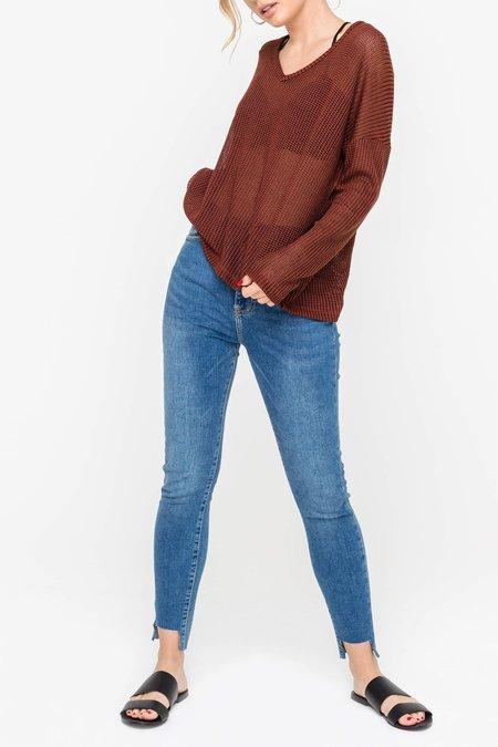 Lush Sheer Knit Sweater