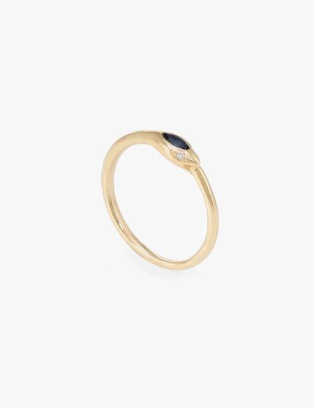 Kathryn Bentley Sapphire Ouroborus Ring