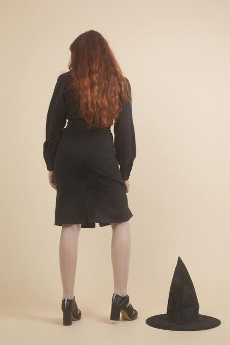 SAMANTHA PLEET SABRINA DRESS - black