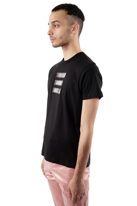 """Walter Van Beirendonck """"Why Is a Raven Like A..."""" Tee - black"""