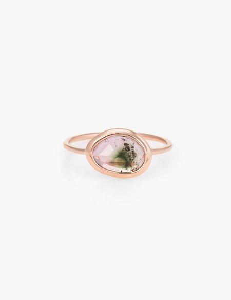 Kathryn Bentley Watermelon Tourmaline Slice Ring