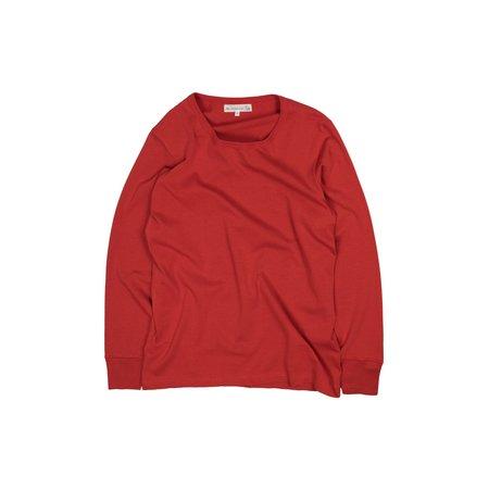 Merz b. Schwanen 212 Army Long Sleeve Tee - Red