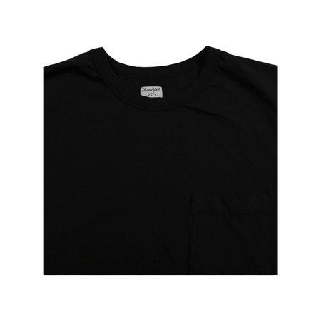 Homespun Knitwear Dad's Pocket Tee - Aged Black