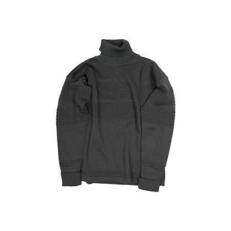 S.N.S. Herning Fisherman Turtleneck Sweater - Grey Absolute