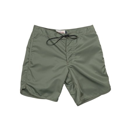 Freenote Cloth Standard Issue Board Short - Olive