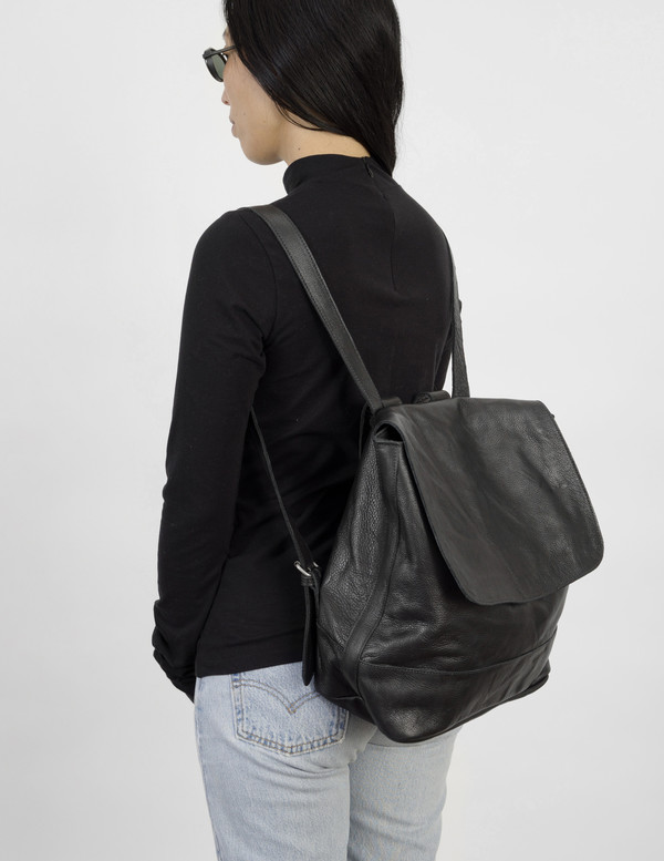 Clyde Black Room Backpack